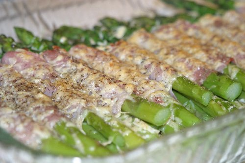 Asparagus au grating picture