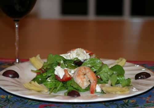 Prawn Salad picture